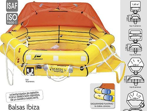 IBIZA HIGH LIFERAFT (Canister)