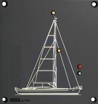 NAVIGATION LIGHT CONTROL MODULE FOR  MAST SAILBOAT