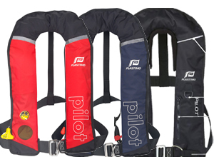 PILOT AUTO ISO 150N LIFEJACKETS WITH HARNESS