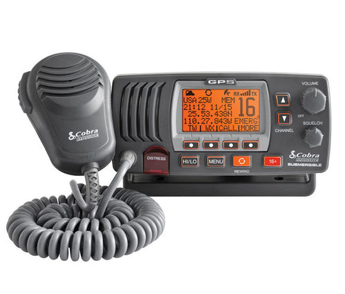 FIXED VHF TRANSCEIVER COBRA MRF 77 WITH GPS