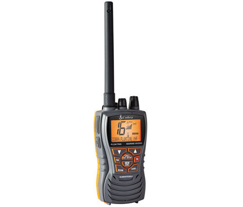 PORTABLE VHF TRANSCEIVER COBRA MRHH 350