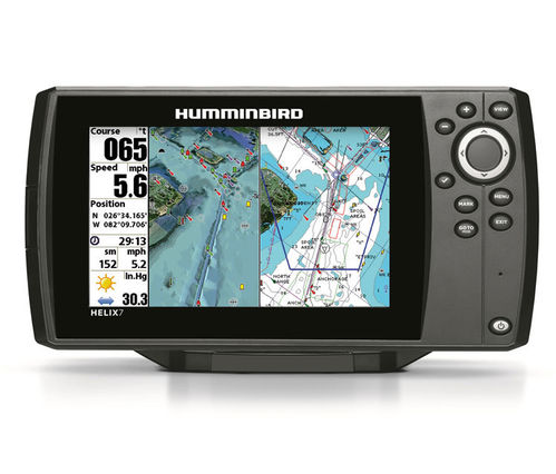 GPS PLOTTER HUMMINBIRD HELIX 7'' HD