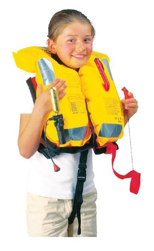 CHILDREN'S 150N INFLATABLE LIFEJACKETS