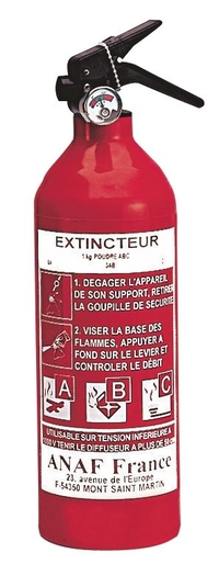 1KG ABC FIRE EXTINGUISHER EN/CE APPROVED