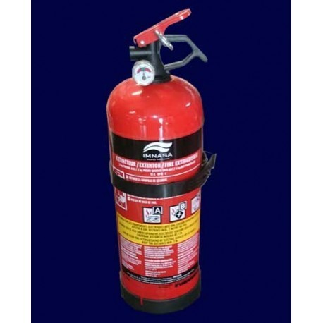 2KG ABC FIRE EXTINGUISHER APPROVED IMNASA