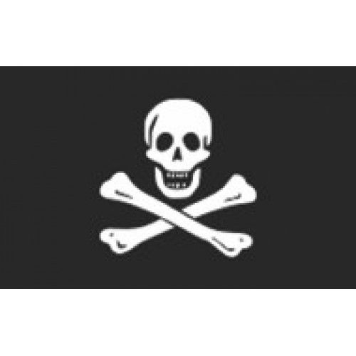 BANDERA DECORATIVA - PIRATA