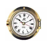 "3"" BRASS CLOCK WITH ALARM"