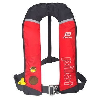 INFLATABLE LIFEJACKET PILOT 275N HAMMAR+HARN RED