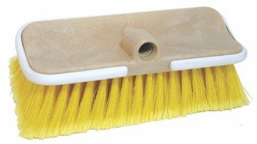 Boat Wash Brush Flow Thru Bi-Level Medium Bristle
